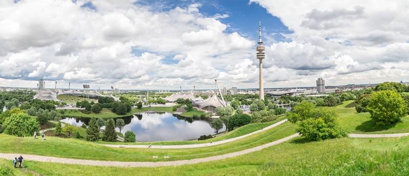 München Sehenswürdigkeiten Karte Olympiaberg