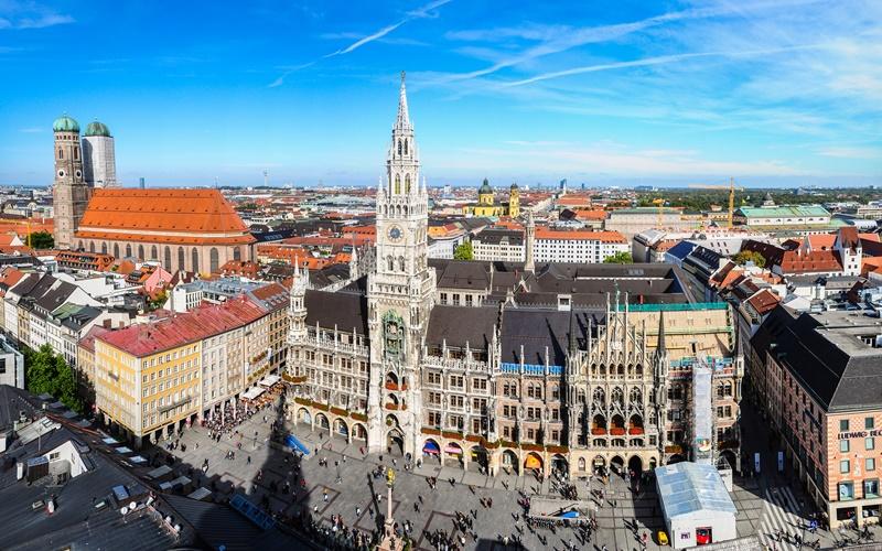 München Sehenswürdigkeiten Marienplatz