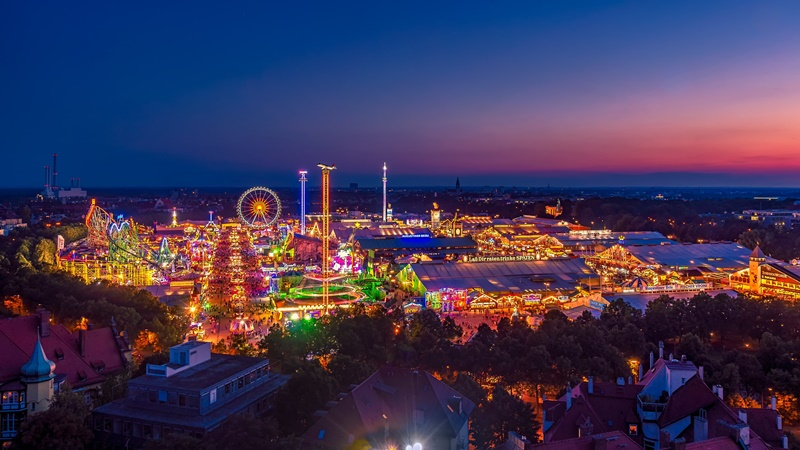 München Sehenswürdigkeiten Oktoberfest