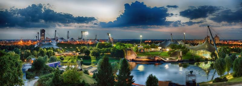 München Sehenswürdigkeiten Olympiapark