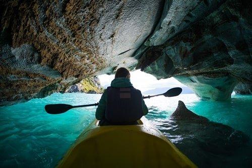 Marble Caves Patagonien