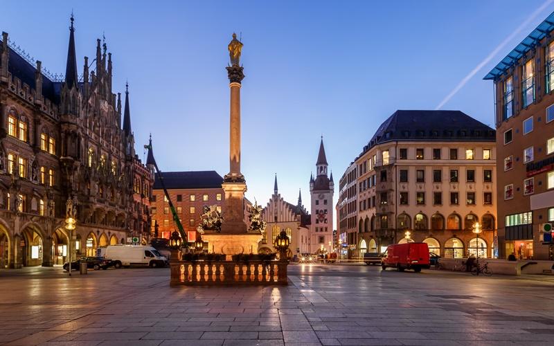 Mariensäule München Sehenswürdigkeiten Innenstadt