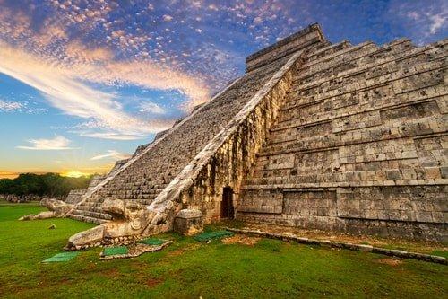 Maya-Ruine Chichen Itza