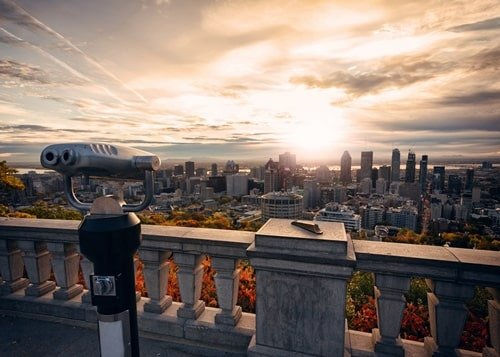 Montreal Oktober Reiseziel