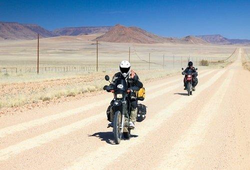 Motorradtour Namibia Oktober