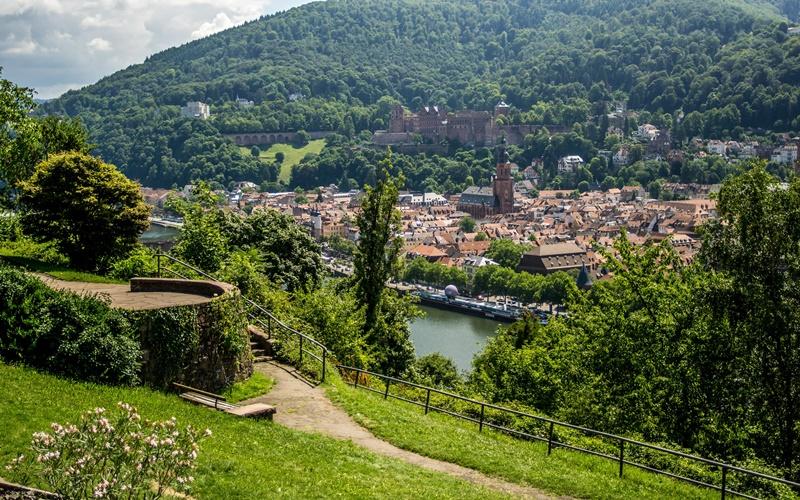 Philosophengarten Philosophenweg Heidelberg Sehenswürdigkeiten