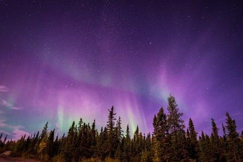 Polarlicht Oktober Kanada