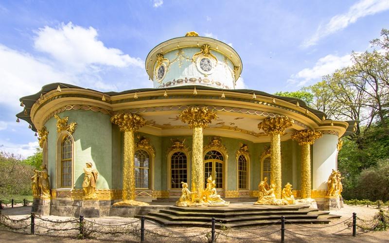 Potsdam Sehenswürdigkeiten Teehaus Drachenhaus