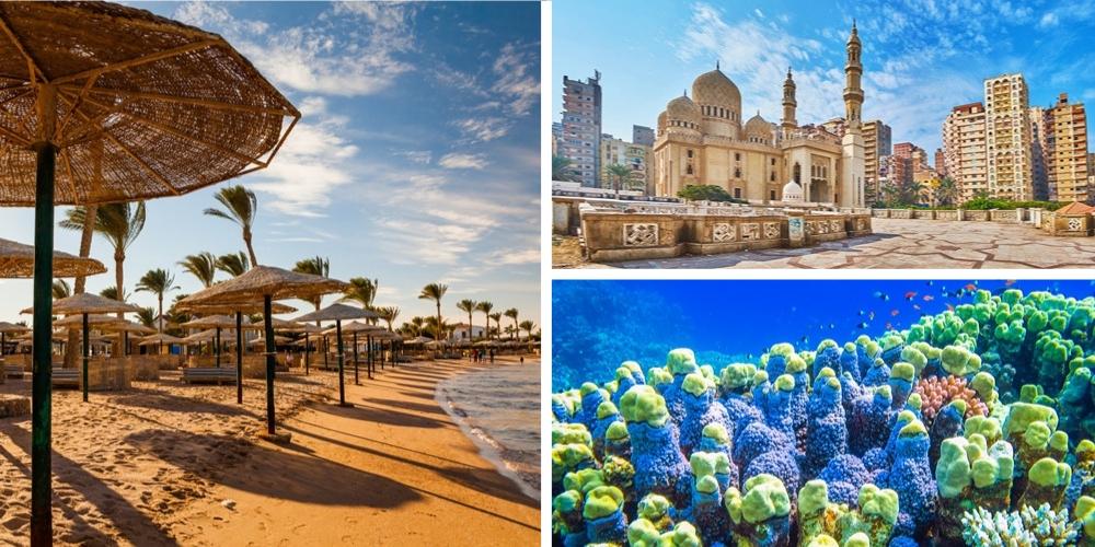 Reiseziel Ägypten März
