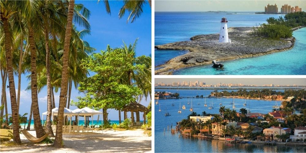 Reiseziel Bahamas März
