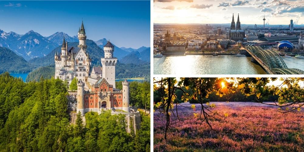 Reiseziel Deutschland Mai