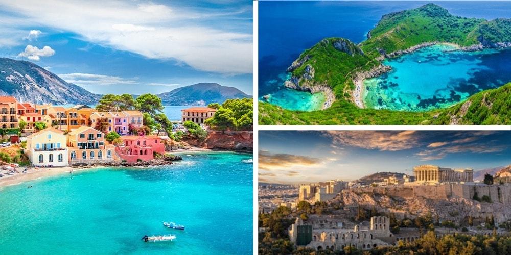 Reiseziel Griechenland März