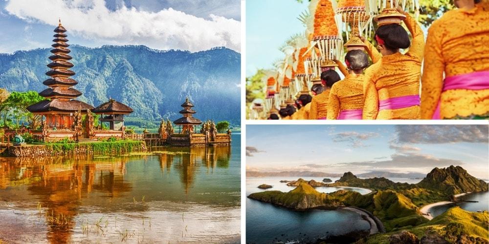 Reiseziel Indonesien April