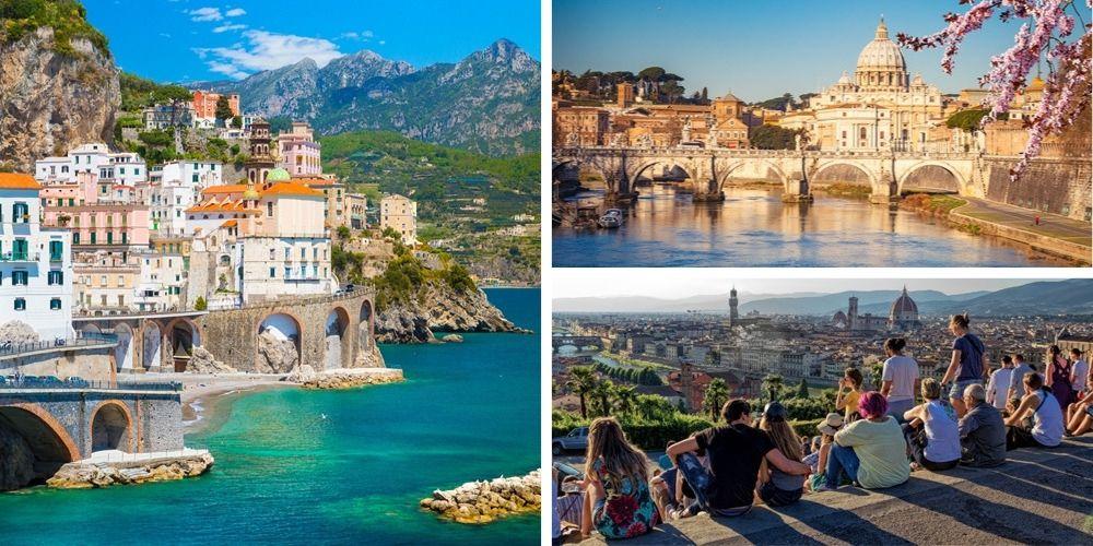 Reiseziel Italien April
