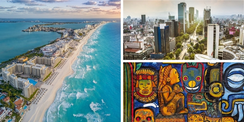 Reiseziel Mexiko März
