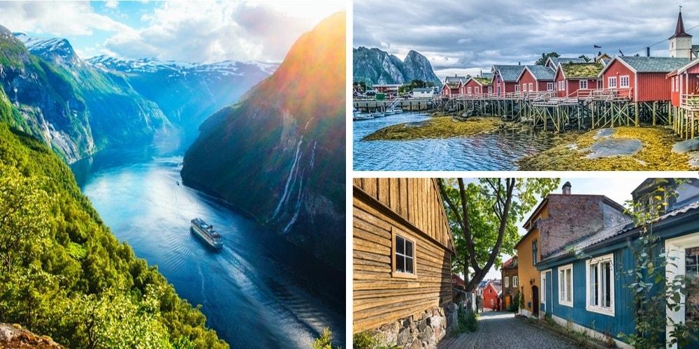 Reiseziel Norwegen März