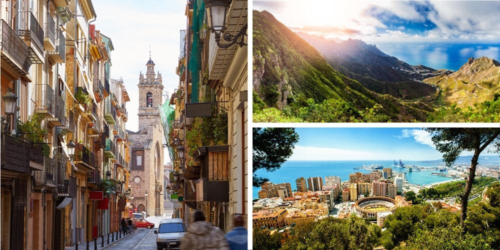 Reiseziel Spanien März