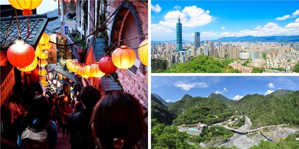 Reiseziel Taiwan Oktober
