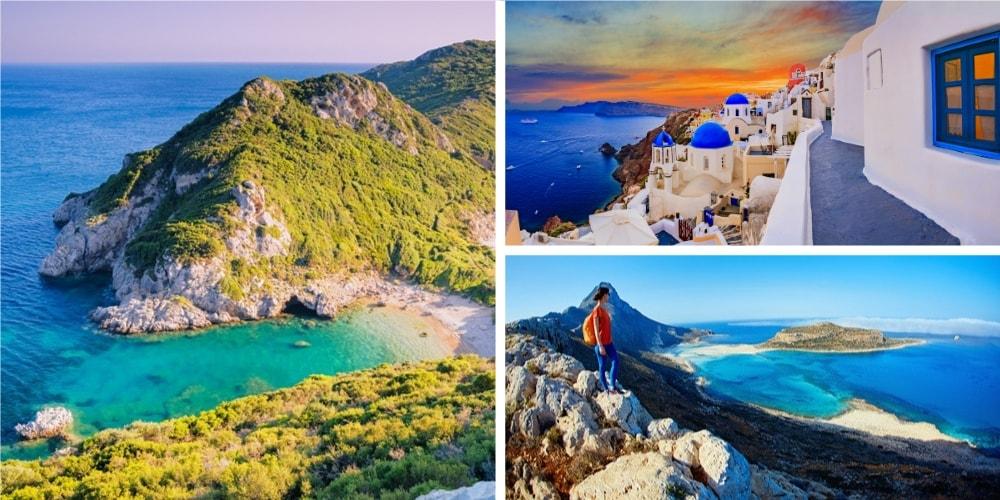 Reiseziel griechische Inseln Mai