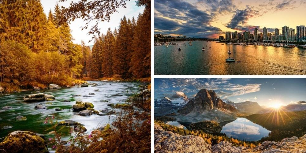 Reiseziele Oktober Kanada