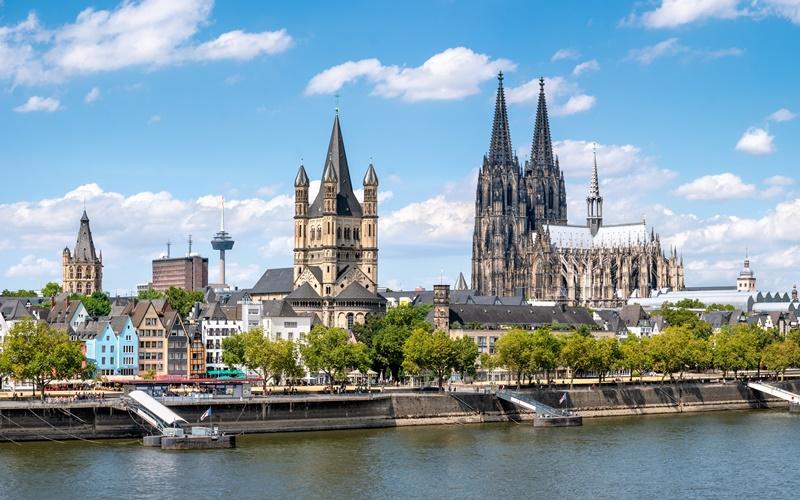 Rhein Sehenswürdigkeiten Köln Karte