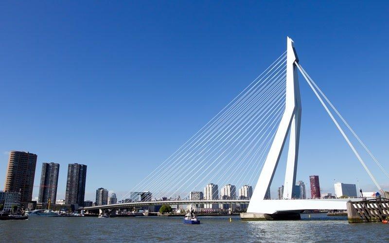 Schöne Städte Holland Rotterdam