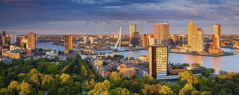 Rotterdam in Holland