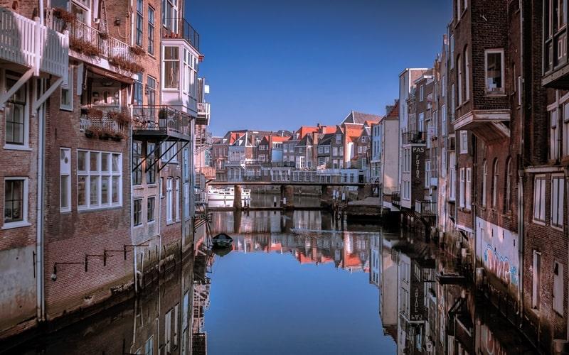 Schöne Städte Holland Dordrecht