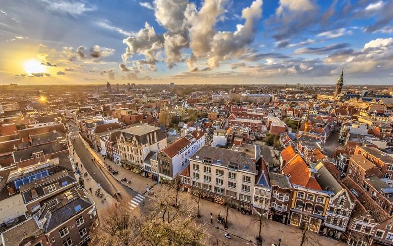 Schöne Städte Holland Groningen