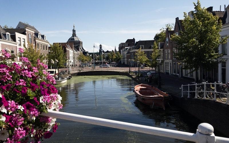 Schöne Städte Holland Leiden