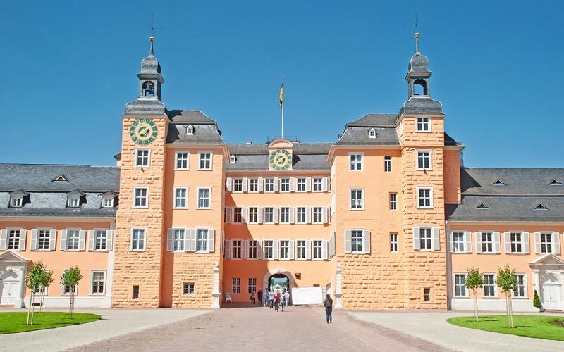 Sehenswürdigkeiten Heidelberg Schloss Schwetzingen