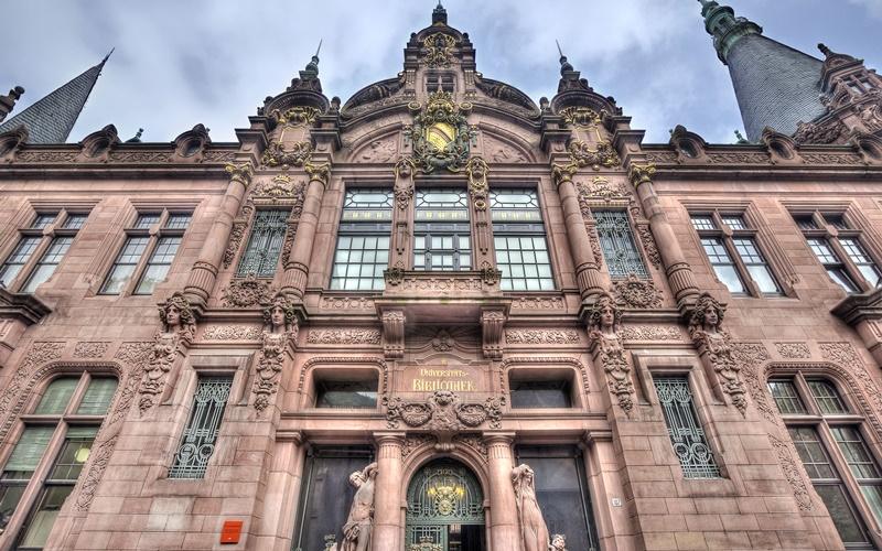 Sehenswürdigkeiten Heidelberg Uni Bibliothek