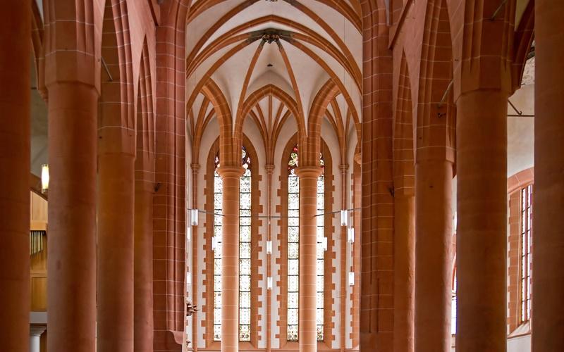 Sehenswürdigkeiten Heidelberg kirche innen
