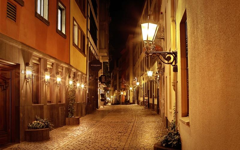 Sehenswürdigkeiten Köln Altstadt bei Nacht