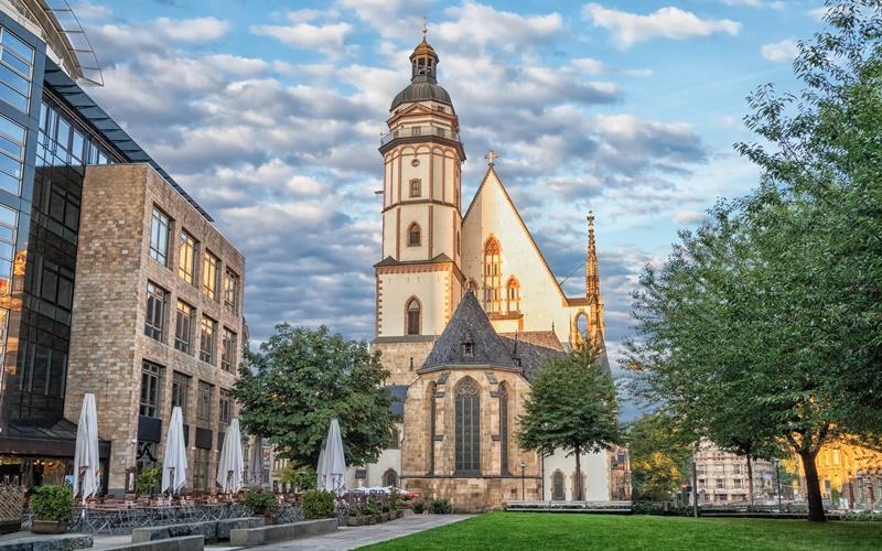 Sehenswürdigkeiten Leipzig Karte Thomaskirche
