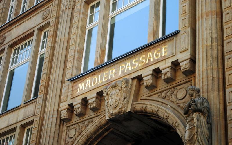 Sehenswürdigkeiten Leipzig Zentrum Mädler Passage