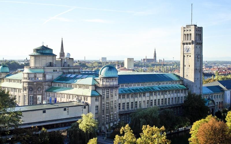 Sehenswürdigkeiten München Karte Deutsches Museum
