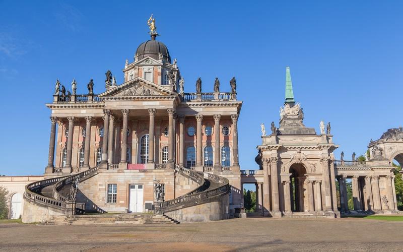 Sehenswürdigkeiten Potsdam Museen Neues Palais
