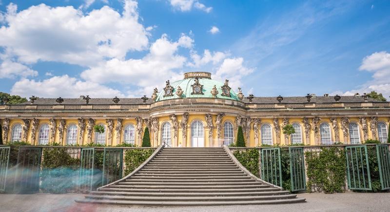 Sehenswürdigkeiten Potsdam Schloss Sanssouci