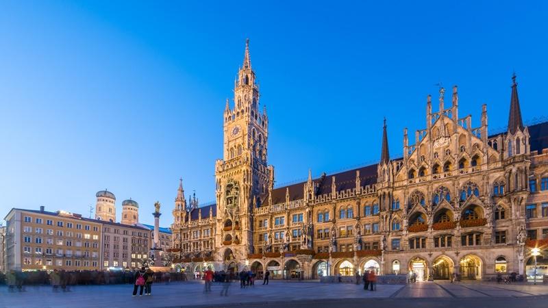 Sehenswürdigkeiten Stadtplan München Innenstadt Platz
