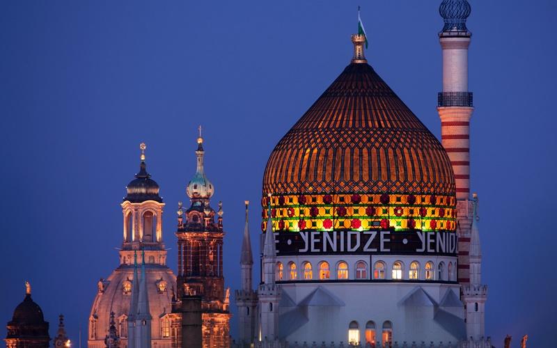 Sehenswürdigkeiten von Dresden Altstadt yenidze