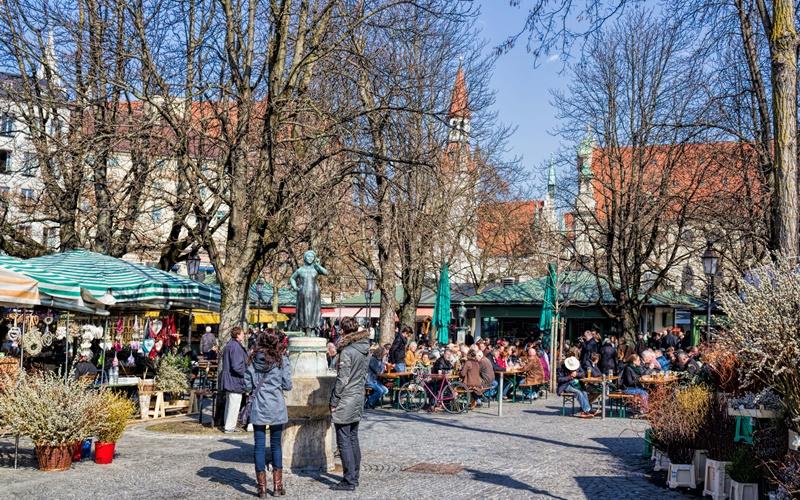 Sehenswürdigkeiten von München Viktualienmarkt