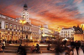 Städtetrip Madrid Spanien