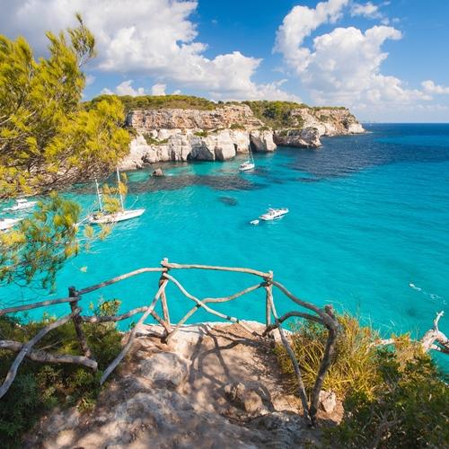 Menorca März