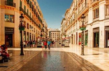 Urlaubsziel Malaga März