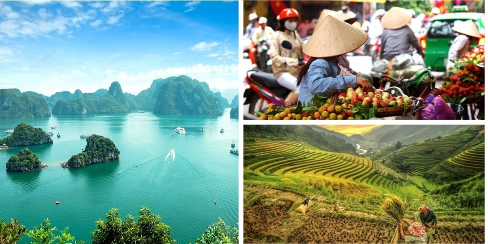 Vietnam Reiseziel April