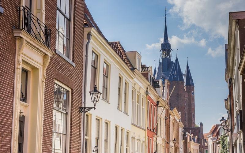 Schöne Städte Holland Zwolle