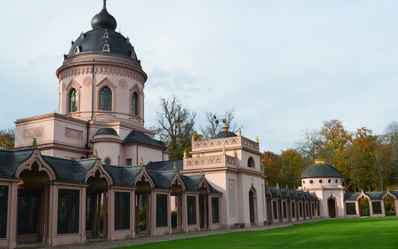 heidelberg und umgebung sehenswürdigkeiten Moschee Schwetzingen Park