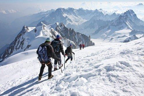 Dezember Skifahren Frankreich