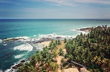 Badeurlaub Dezember Sri Lanka